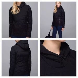 Lululemon fluffed up quilted pullover